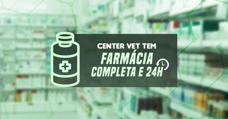 Farmácia completa e 24 horas
