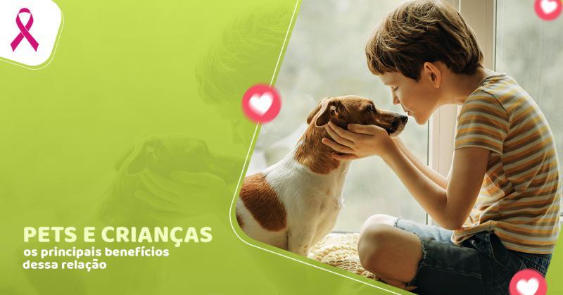 Pets e crianças: os principais benefícios dessa relação