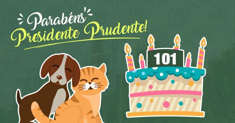 Parabéns Presidente Prudente