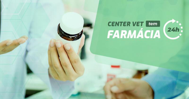 Center Vet tem: Farmácia 24h